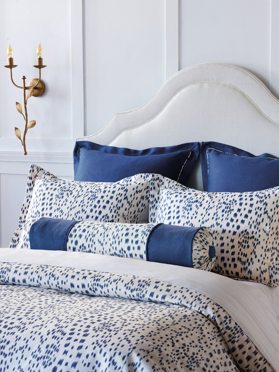 Curated, Les Touches Bedding Blue