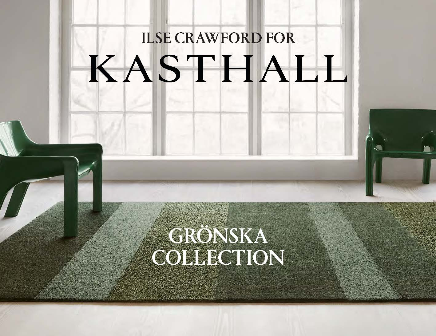 Kasthall Catalog_Ilse Crawford x Kasthall Gronska Collection Cover