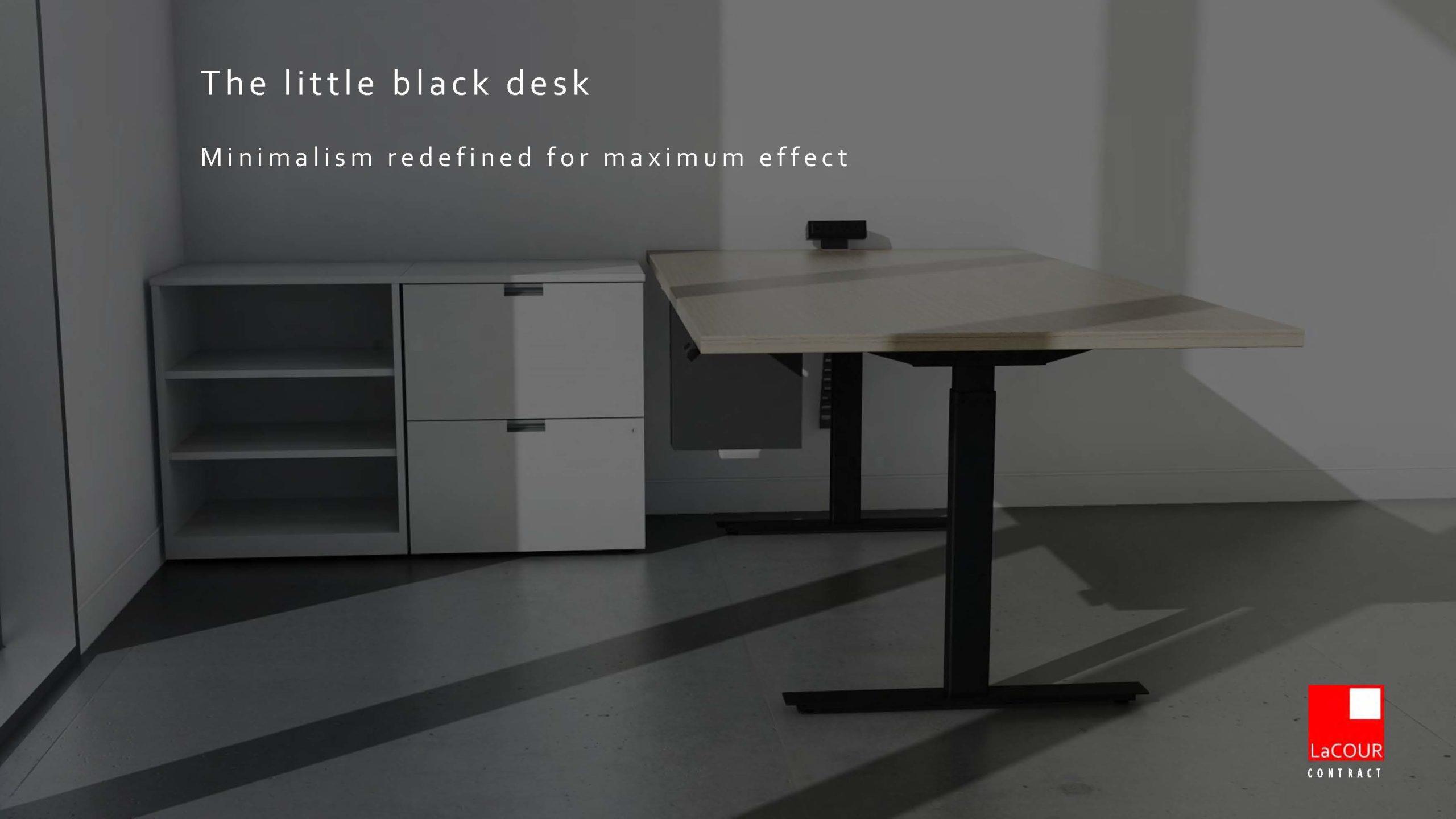 LaCOUR Catalog_Little Black Desk Cover