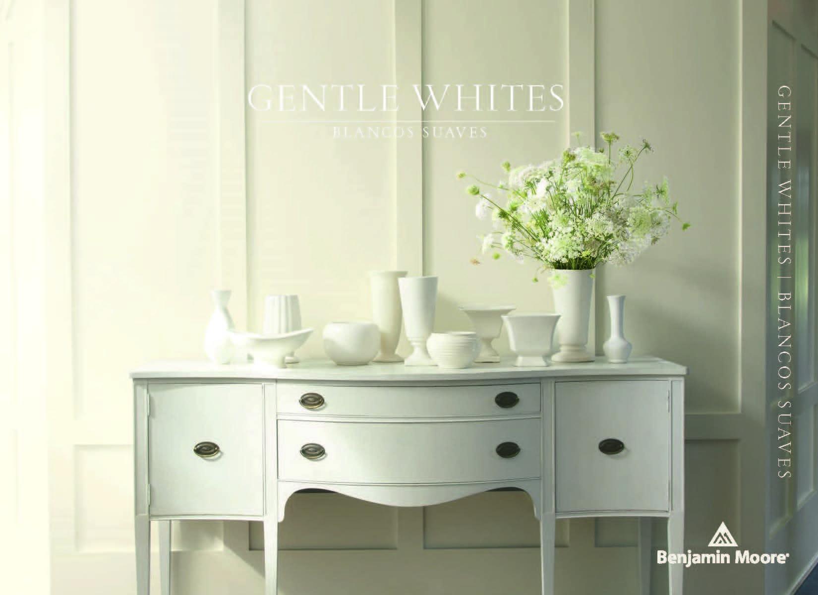 Benjamin Moore Catalog_Gentle Whites Cover