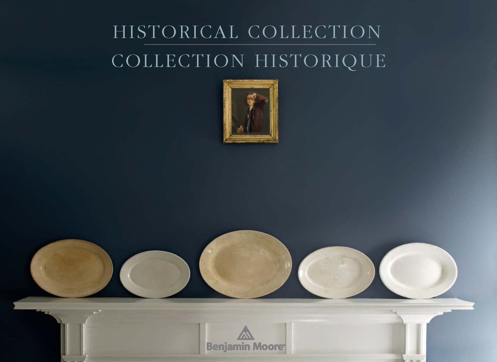 Benjamin Moore Catalog_Historical Collection Cover