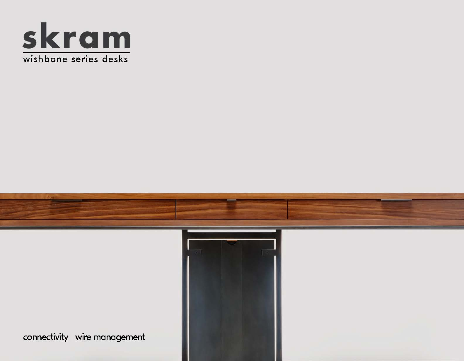 skram_Wishbone Series Desks Catalog Cover