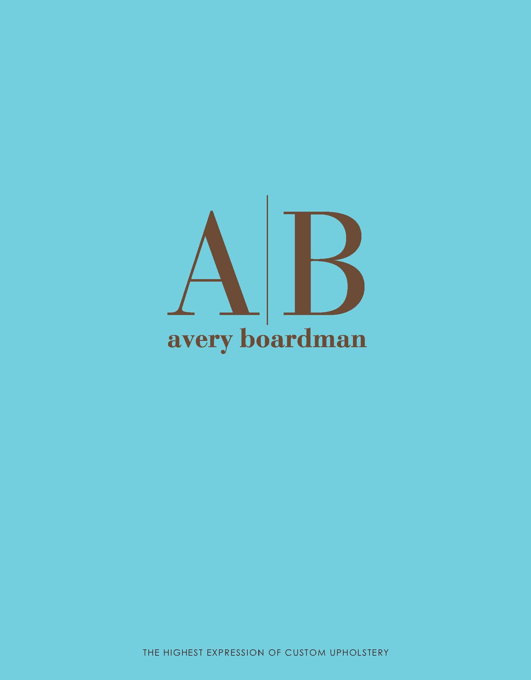 Avery Boardman Catalog Cover