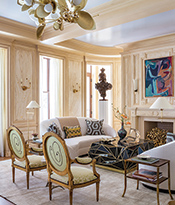 Room 7 Gilded Knots designed by Bunny Williams Associates - Thumb