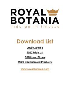 Royal Botania Catalog Download Cover