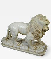 Marble Lion Figure Thumbnail
