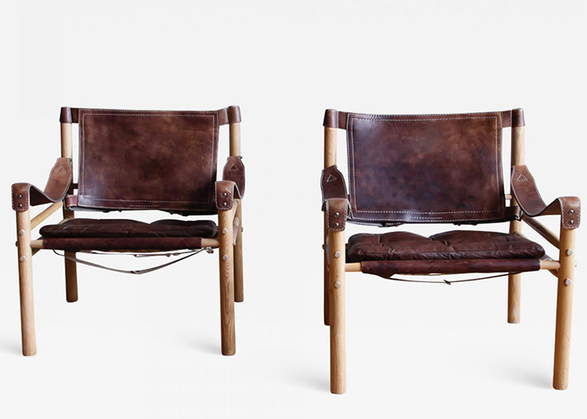 Pair of Norell Scirocco Safari Chairs