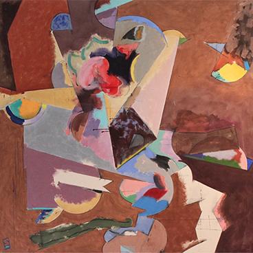 Gallery Walls 16_Alan Shean Abstract 1980