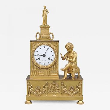Milord Antiques 6_Fine Empire Mantel Clock
