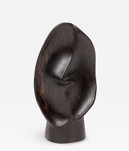 Alexandre Noll One of a kind Ebony sculpture