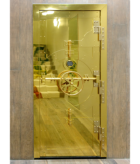 Amuneal and Adam Hunter Collaboration Vault Door