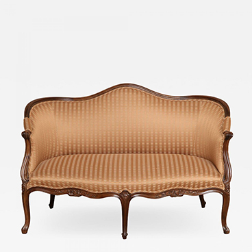 Antique Walnut Settee_Sample 200 Lex