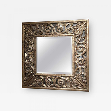 Carved Champain Mirror_Wood and Hogan_Sample 200 Lex