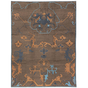 Cloud Oushak Hand Knotted Rug_Odegard_Sample 200 Lex Cropped