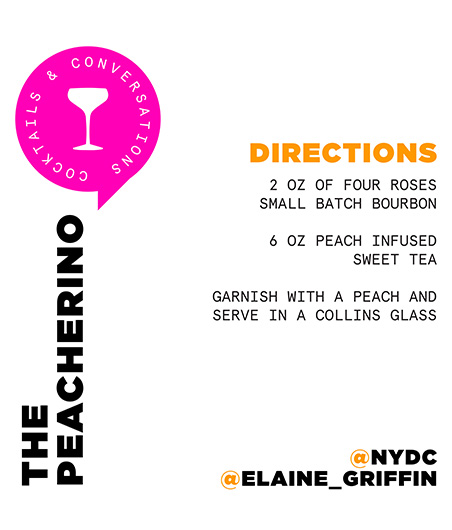 Elaine Griffin Cocktail Recipe