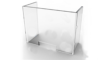 Plexi-Craft Creates Protective Guards_box hinge rendering guard