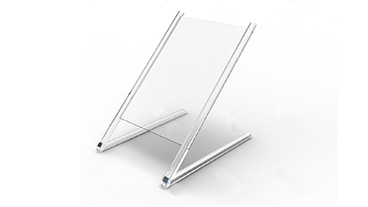 Plexi-Craft Creates Protective Guards_stand rendering guard