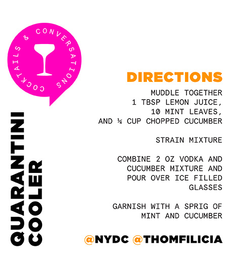 Thom FIlicia Cocktail Recipe