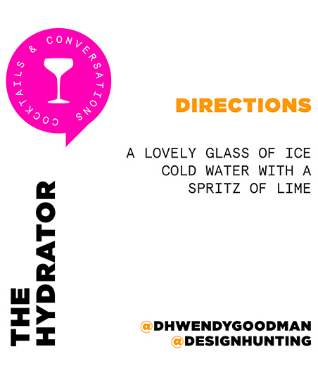 Wendy Goodman Cocktail Recipe