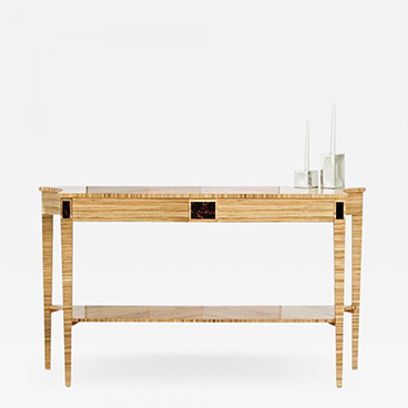Zebrano Console Table_Wood and Hogan_Sample 200 Lex