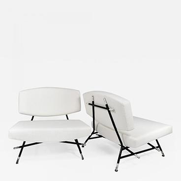 Ico Parisi Rare pair of chairs Model