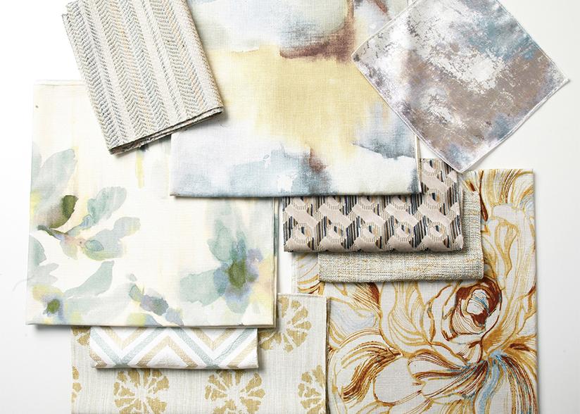 Sand Sea Fabrics_Pindler Summer Trends_200 Lex_Flat Lay
