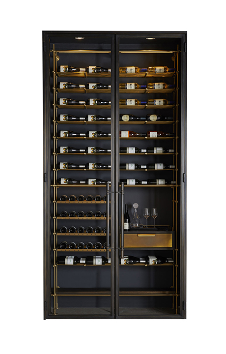 Amuneal_Bronze-Wine-Room_Gallery