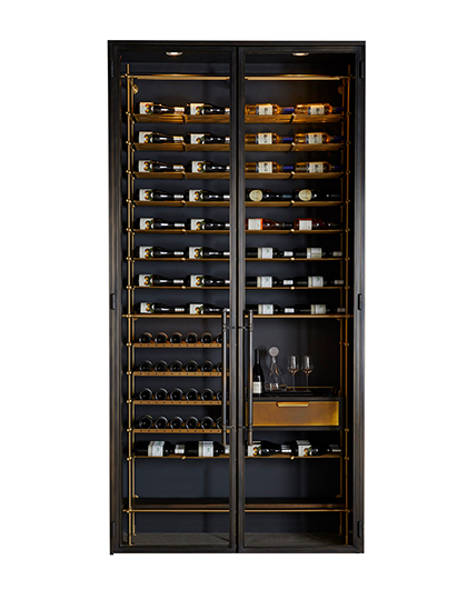 Amuneal_Bronze-Wine-Room_Main