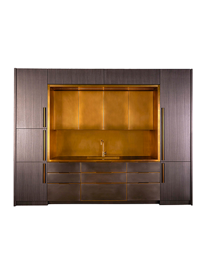 Amuneal_Metal-Kitchen-Brass-Niche-Koto-Wood_Main