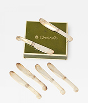 Christofle Set of 6 Spreaders