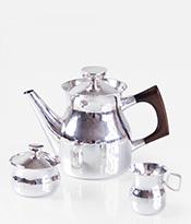 Eric Lofman Sterling Silver Coffee Service