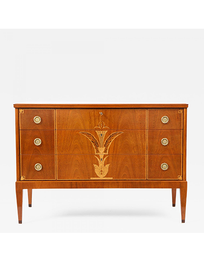 The-Gallery_Swedish-Grace-Inlaid-Mohagony-Commode_Main