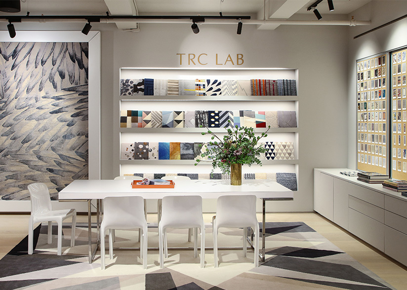 The Rug Company_Josh Gaddy_TRC Lab Center Left Photo