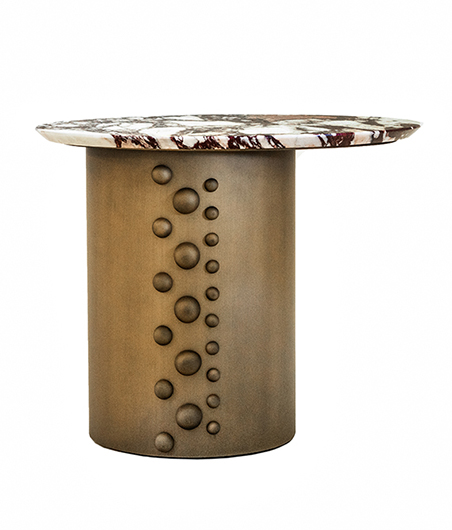 Column Oval Side Table
