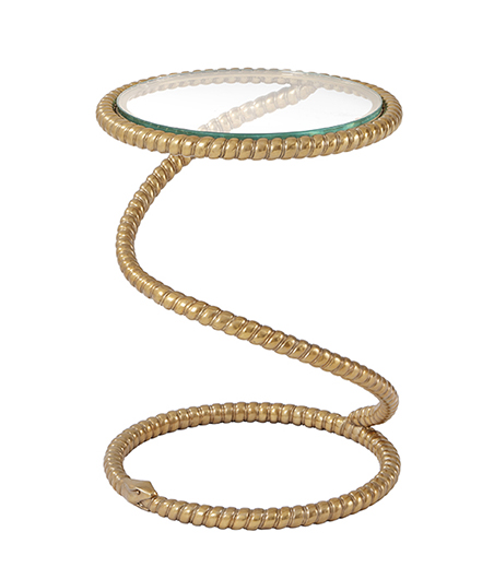 Serpent Accent Table