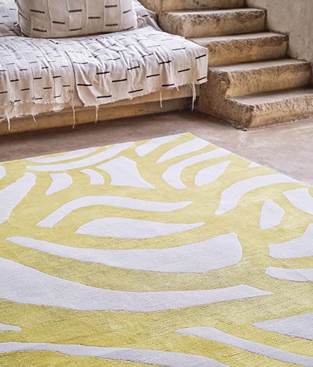 The Rug Company-Wanderlust_Nicole Fuller-Lamu Sun Detail