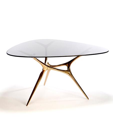 Wexler Gallery Bronze E-Volved Table