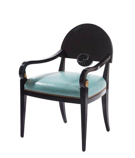 Alexa Hampton_Theodore Alexander_Frances Dining Arm Chair