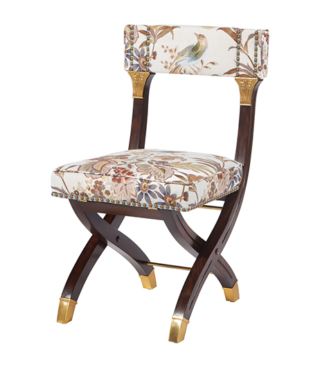 Alexa Hampton_Theodore Alexander_Sloane Folding Chaire
