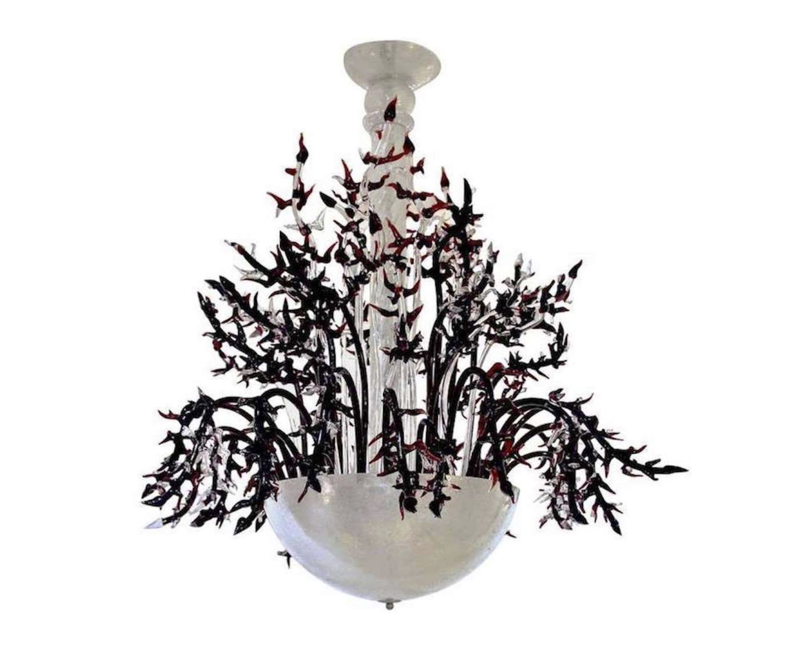cosulich_interiors_and_antiques_products_new_york_design_1980s_Italian_White_Murano_Glass_Chandelier_Decor-scaled-1