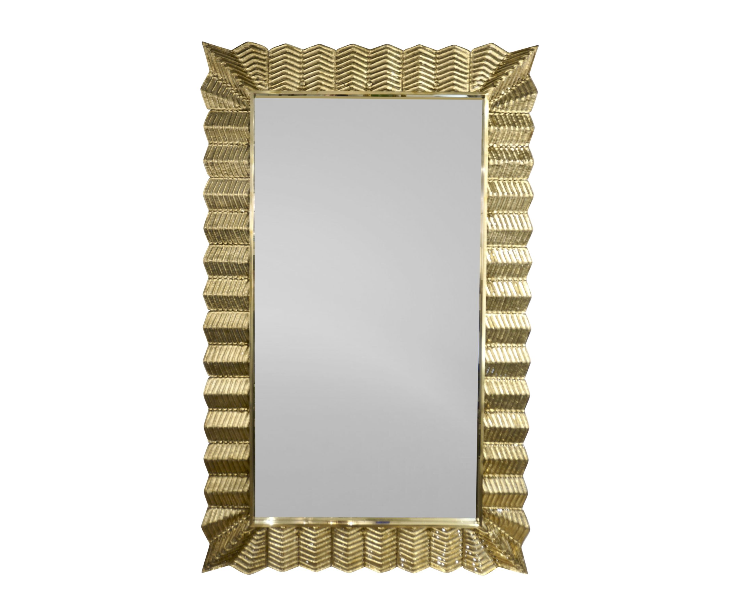 cosulich_interiors_and_antiques_products_new_york_design_Bespoke-Italian-Art-Deco-Design-Ruffled-Gold-Murano-Glass-Brass-Mirror_main-scaled-1