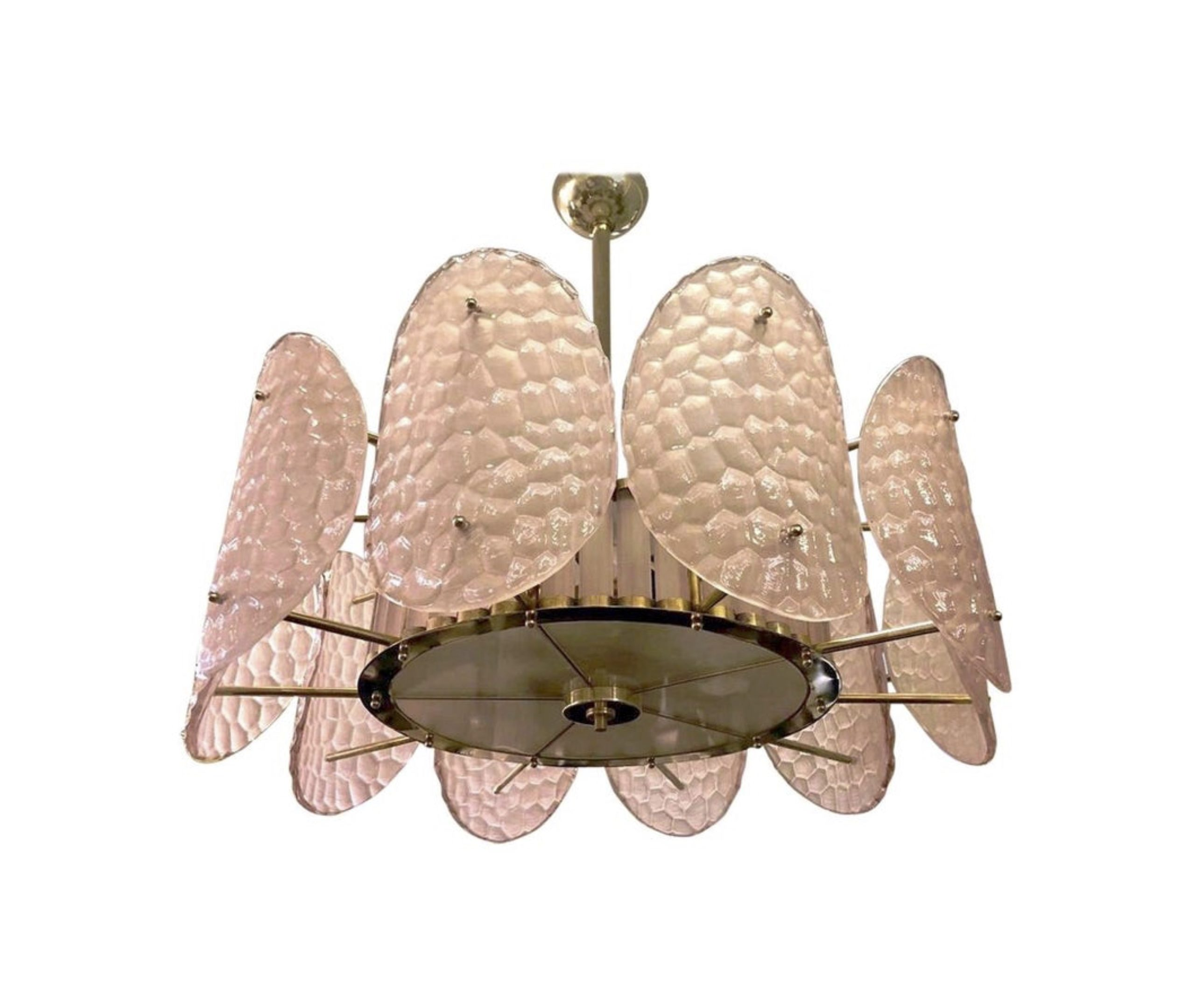 cosulich_interiors_and_antiques_products_new_york_design_bespoke_italian_crystal_rose_pink_murano_glass_brass_chandelier_flushmount-scaled-1