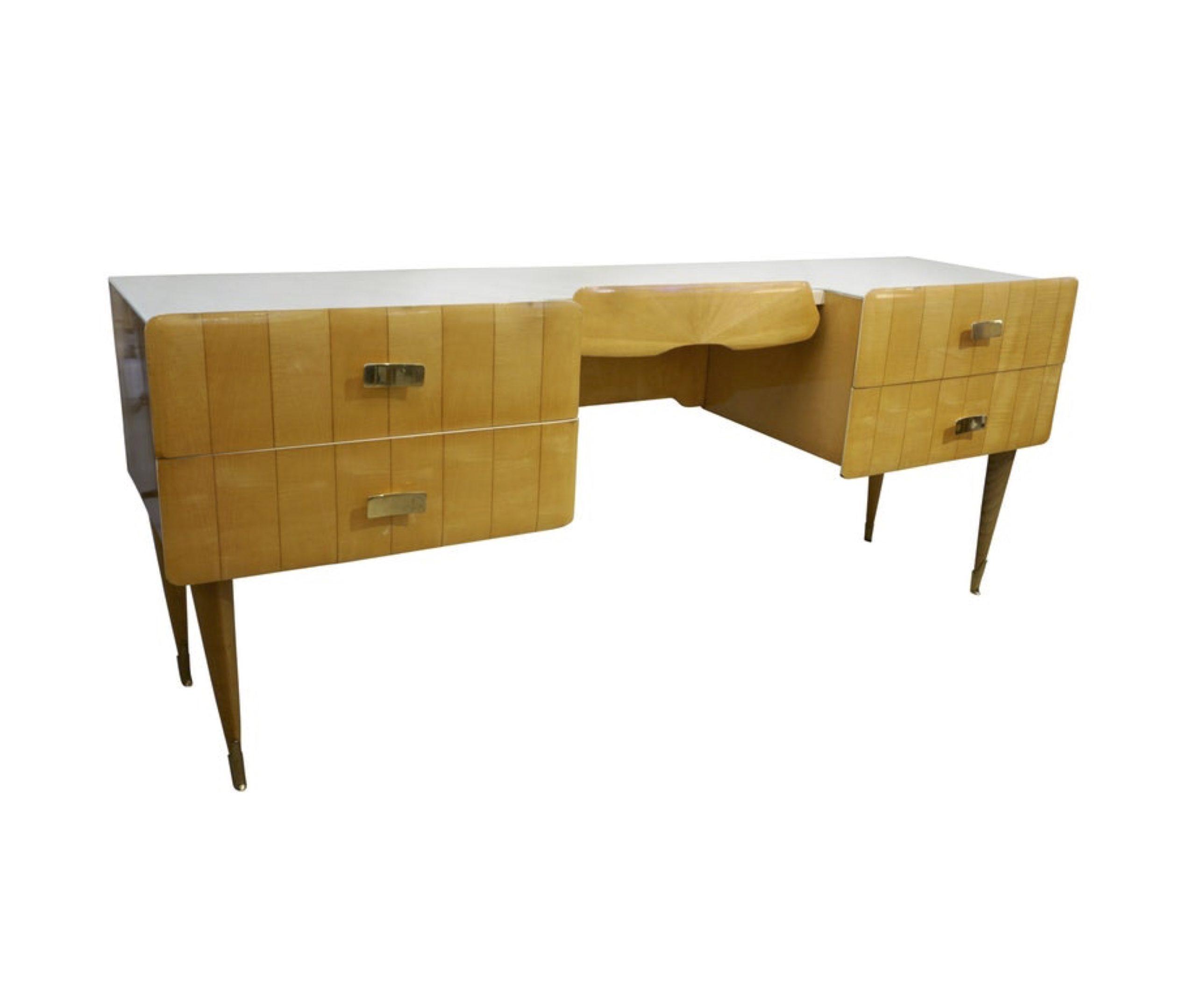 cosulich_interiors_and_antiques_products_new_york_design_center_1950s_pier_luigi_colli_vintage_italian_design_cream_honey_ashwood_modern_desk-scaled-1