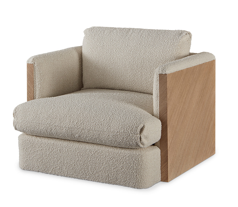 Combed Lounge Chair Gallery Image
