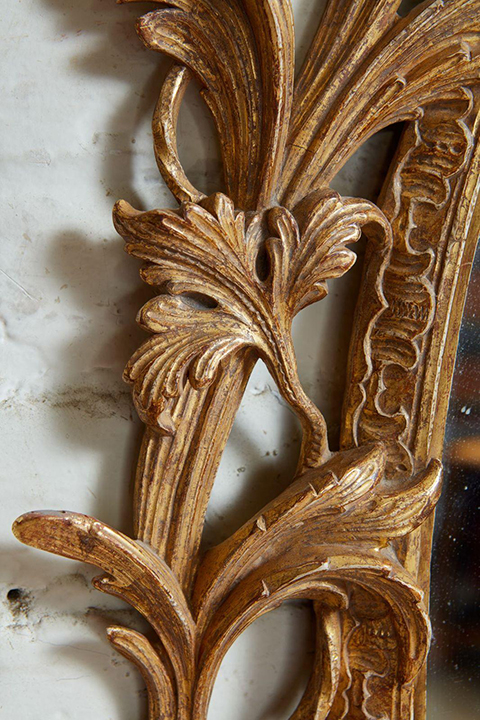 Exceptional George III Oval Mirror Gallery Image 3