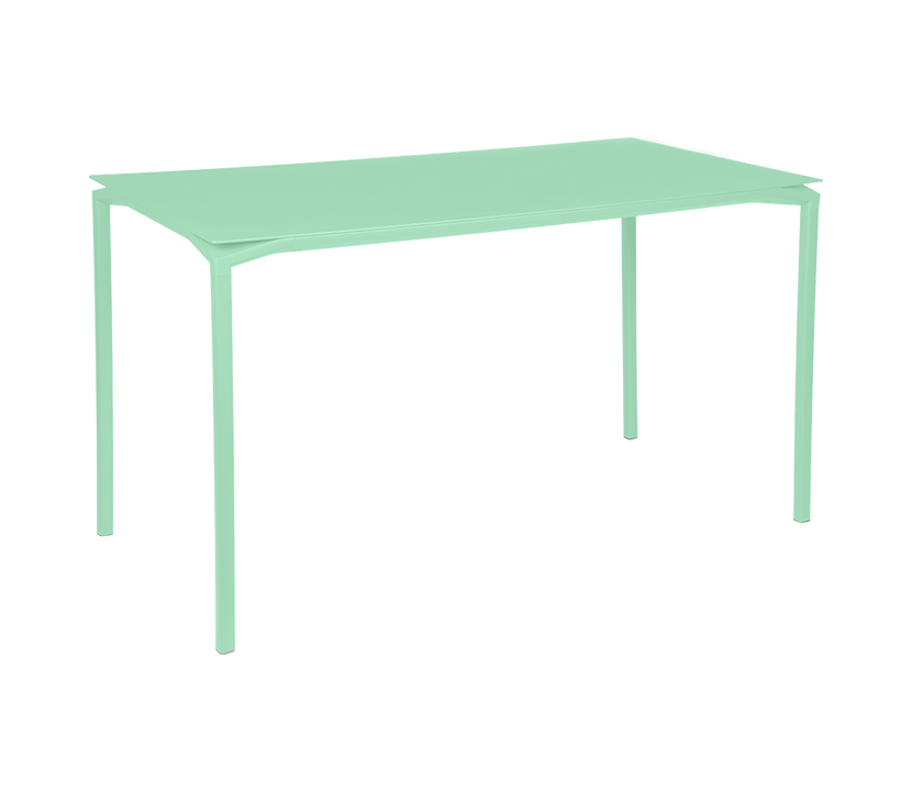 Fermob_Luxembourg Calvi High Table 63x31_Gallery Image 14_Opaline Green