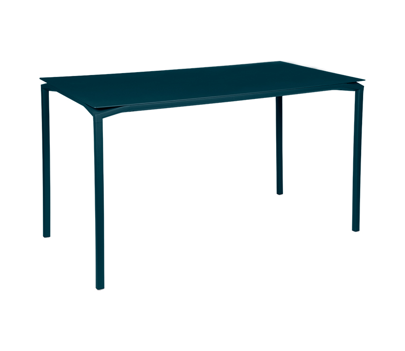 Fermob_Luxembourg Calvi High Table 63x31_Gallery Image 16_Acapulco Blue
