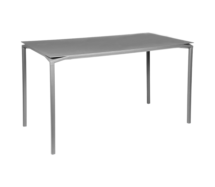 Fermob_Luxembourg Calvi High Table 63x31_Gallery Image 18_Steel Grey