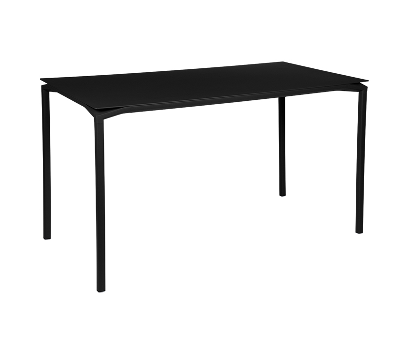 Fermob_Luxembourg Calvi High Table 63x31_Gallery Image 21_Liquorice