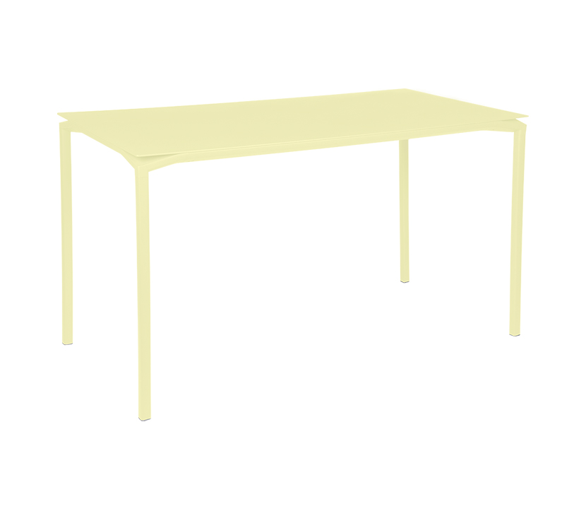 Fermob_Luxembourg Calvi High Table 63x31_Gallery Image 23_Frosted Lemon